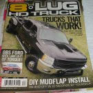 8 lug HD Truck magazine WORK 0bs ford DIY Mudflap install heated windsheild wash