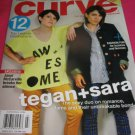 Curve magazine Chaz Bono Tegan & Sara 12 top Lesbian vacations Janel McCarville