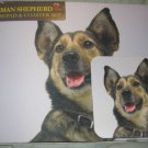 German Shepherd Dog Mousepad & 2 coaster set Littlegifts