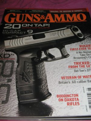 Guns & AMMO magazine hi cap compact 9 springfields 20 on tap capacity