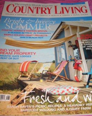 Country Living UK Coastal homes fashion Ireland Gardens dream property magazine