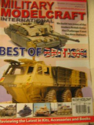 Military Model craft magazine best BRITISH Challenger 11 Alvis Stewart