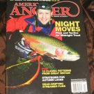 American ANGLER magazine Fishing authority flies & tactics midnight trout lakes