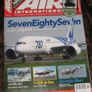Air International magazine CH-47 Chinook supplement part 2 Alitalia 787 Japan