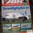 Air International magazine CH-47 Chinook supplement part 2 Alitalia 787 Japan