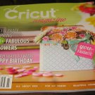 Cricut magazine Celebrate spring 21 Fabulous Flowers Home DECOR kids cards