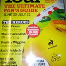 TOUR de FRANCE 2012 Race Guide Ultimate Fans FREE 64 page photo magazine