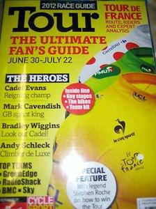 TOUR de FRANCE 2012 Race Guide Ultimate Fans FREE 64 page photo magazine