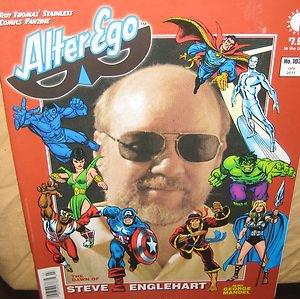 Alter Ego Fanzine Steve Englehart George Mandel Mr. Monster   comic magazine