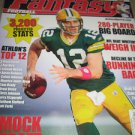 Athlon Sports Fantasy Football 2012 Magazine Top 12 Mock Draft NFL Beat writers