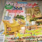 Vintage Style Country Almanac # 160 Spring 2013 bargain finds attic treasures