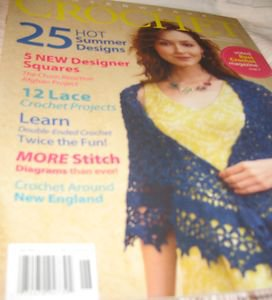 interweave crochet magazine designer squares projects double ended summer 2010