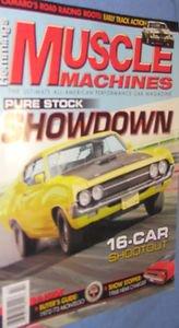 Hemmings Muscle Machines Magazine February 2013 vol 10 # 6 Pure Stock Showdownn