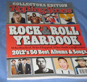Rolling Stone 2012 Rock & Roll Yearbook magazine Collector Edition best albums