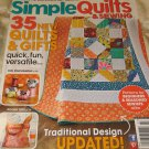 Simple Quilts & Sewing Magazine #127 Winter 2012 beginner seasoned pincushion