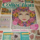 Cross Stitch Collection Magazine july 2012 summer go cottage Goddess sea Cards