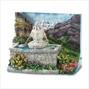 Alpine Courtyard Mini-Fountain