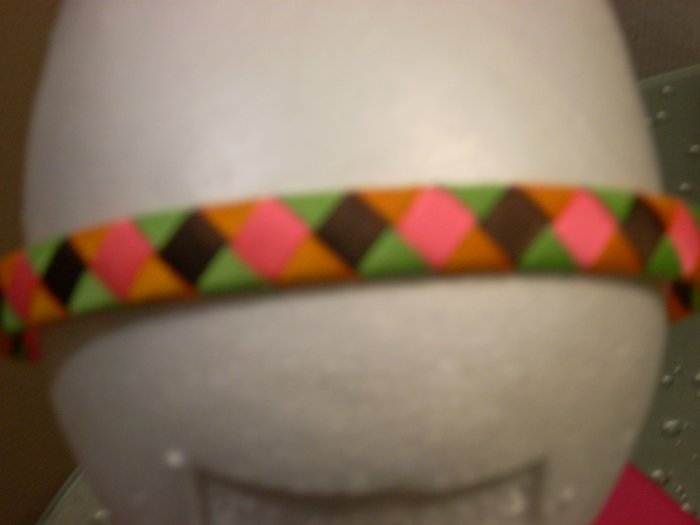 Woven Headband -- Ice Cream!