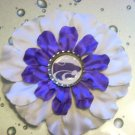 Bottle Cap Flower - Go Wildcats!