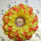 """Bottle Cap Flower - """"Gobble"""""""