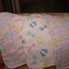 Burp Rag - I Love Mommy Set