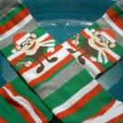 Baby Legs -  Christmas Monkey