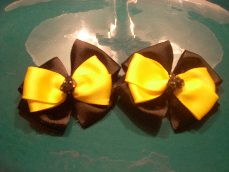 Black and Yellow Piggy Set