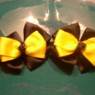 Black and Yellow Piggy Set