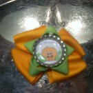 My First Halloween Bottlecap Bow