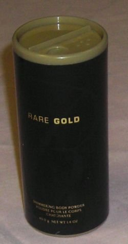 Avon Rare Gold Shimmering Body Powder