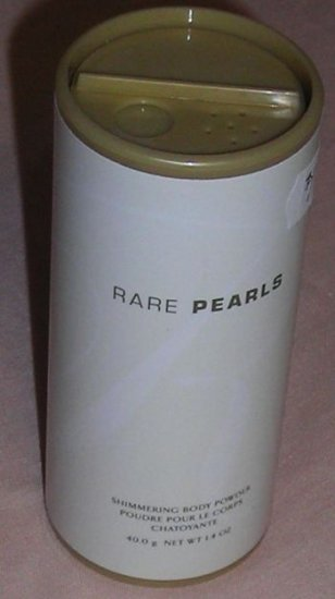 Avon Rare Pearls Shimmering Body Powder