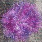 Fun Fur Handmade Crocheted Scrunchies Multi-Purple (1)