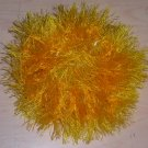 Fun Fur Handmade Crocheted Scrunchie Yellow