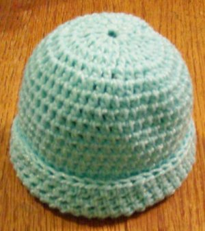 New Crocheted Baby Beanies for Infant or Small Child