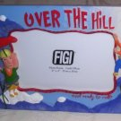 Over The Hill Photo Frame holds 6in x 4in photo