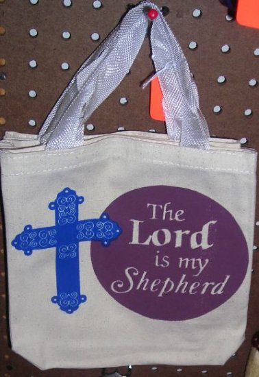 Small Tote Bag The Lord Is My Shepherd