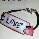 """Love"" bracelet- Personalized"