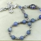 Ten Bead Chaplet - Gemstone and Milliefiori Bead