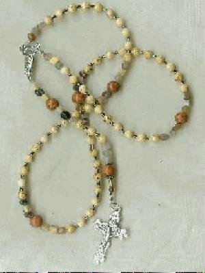 Rosary of Jasper Jemstones
