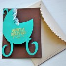 Hollaa baby card: Speical Delivery carriage ann