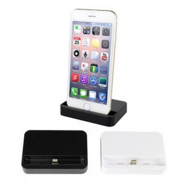 Data Sync Desk Station Cradle Port Charger Dock iPhone 6/Plus  - 2 Colors