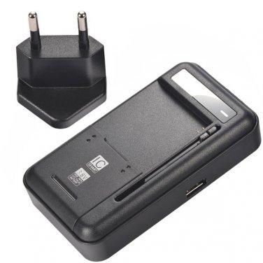YB-108 Universal US Plug IC Smart USB Charger EU Adapter Cell Phones