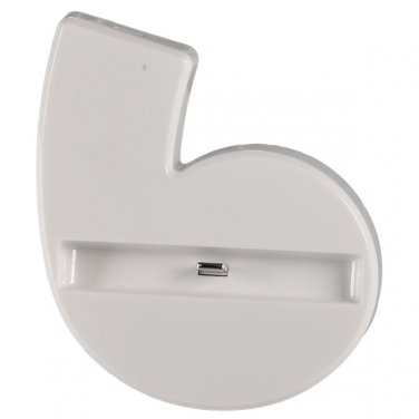 Portable Convenient Data Sync Desk Station Cradle Port Charger Dock for iPhone 6 -White