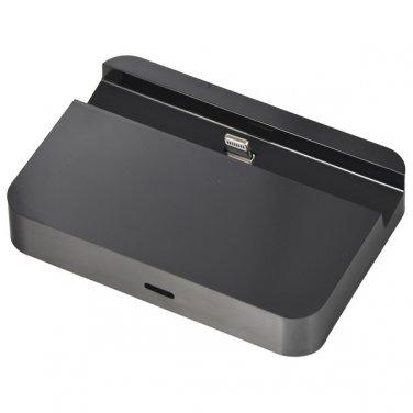 Portable Convenient Data Sync Desk Station Cradle Port Charger Dock for iPhone 6/Plus -Black