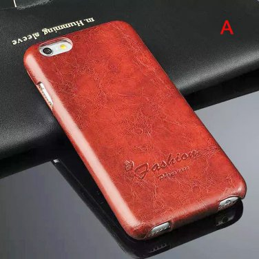 New 4.7inch Protective PU Leather Phone Case Vertical Up and Down Cover for iPhone 6 - 5 Colors