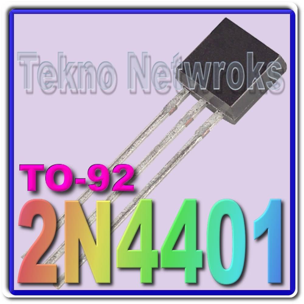 2N4401 NPN General Pupose Amplifier Lot of 50