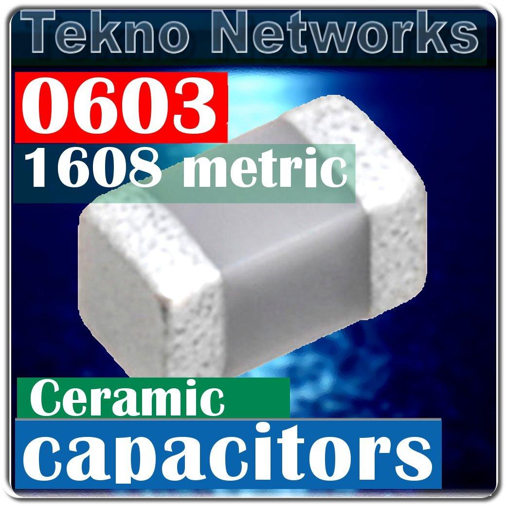 Murata 0603 1608 1000pF 1nF 50V X7R Capacitors - 250pcs