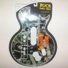 2008 Gamer Graffix Guitar Hero III WII Rock Guitar Skins- Motley Crue