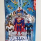 "2005 JLU 4"" Action Figure  3-Pack: Superman/ Aztec/ Sinestro"