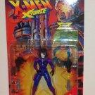 "1995 Marvel Comics X-Men X-force 5"" Action Figure- Domino"